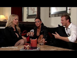 Julia Ann Jessica are Bound, Gagged, Fucked!