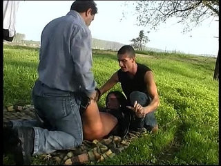 A woman with car trouble is taken and abused by two men