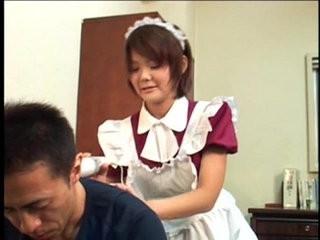 Asian Horny Maid