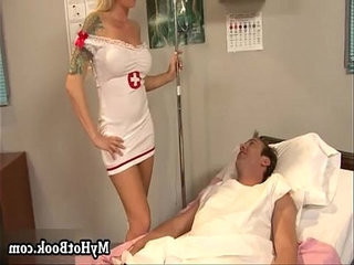 When the gorgeous blonde nurse Brooke Haven walks