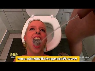 Dirty fetish piss shower slut