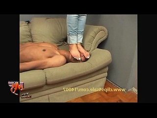 Hard Face Trample and Humiliation Foot Fetish Action