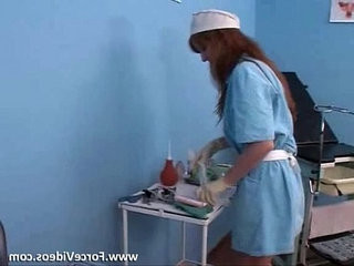 Nurse Hard In Clinic Extreme Force