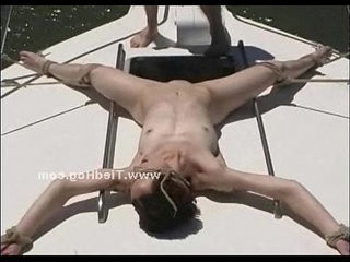 Babe held prisoner on a boat tied