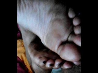 indian wife with hangover half sleeping