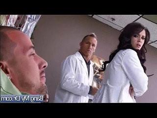 Hot sex scene action between horny doctor and patient clip 20