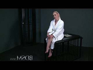 Bdsm xxx blonde gets tied up and has her holes filled by masters cock and hook