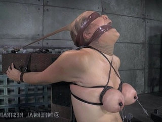 Innocent Blonde Endures Bondage From Daddy